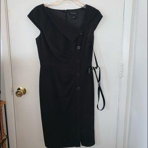 White Market Black House Dress | Sz 6 | Black